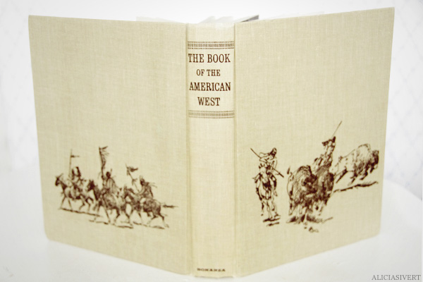 aliciasivert, alicia sivertsson, second hand, loppis, begagnat, loppisfynd, skattjakt, spunkjakt, salighetssaker, erikshjälpen, the book of the american west, 1963, bonanza, indians, indianer, cowboys,