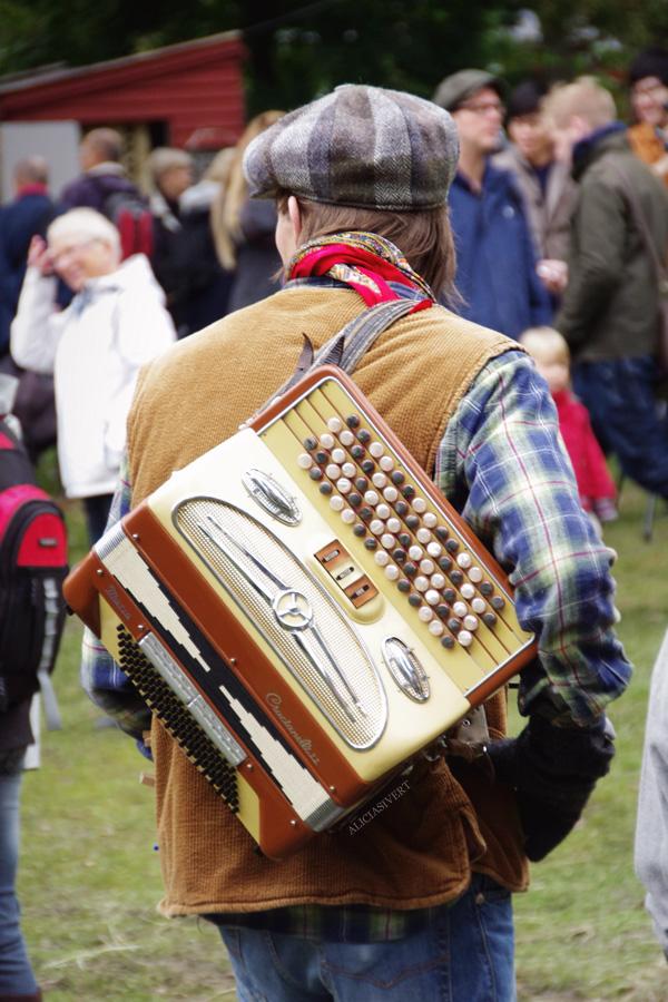 aliciasivert, alicia sivertsson, skansen, skansens höstmarknad, market, autumn, utklädd, utklädnad, dressed up, dragspel, musik, musiker, musician, music