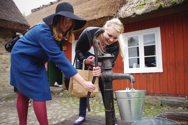 aliciasivert, alicia sivertsson, skansen, skansens höstmarknad, market, autumn, vattenpump