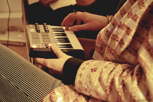 aliciasivert, alicia sivertsson, harry potter halloween party, fest, piano