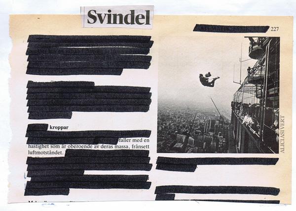 aliciasivert, alicia sivertsson, collage, blackout, svindel