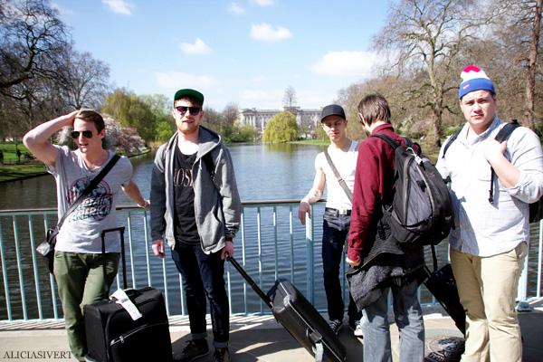aliciasivert, alicia sivertsson, london med grabbarna, england, st james' park