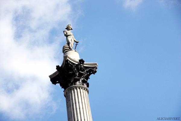 aliciasivert, alicia sivertsson, london, england, nelson, trafalgar square