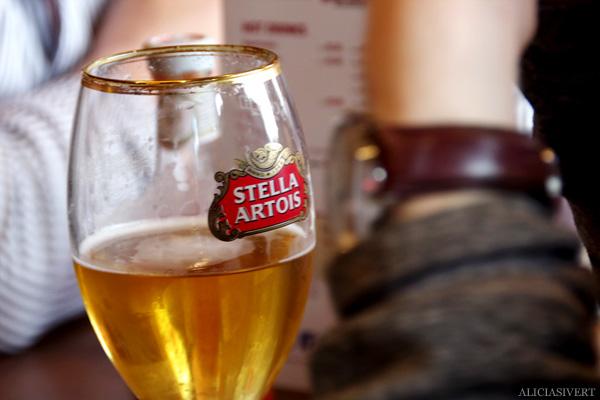 aliciasivert, alicia sivertsson, london, england, stella, öl, beer