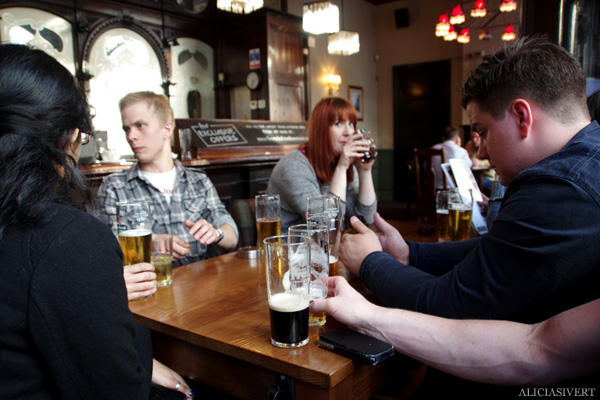 aliciasivert, alicia sivertsson, london, england, the rocket, pub, beer, stout, öl, guinness