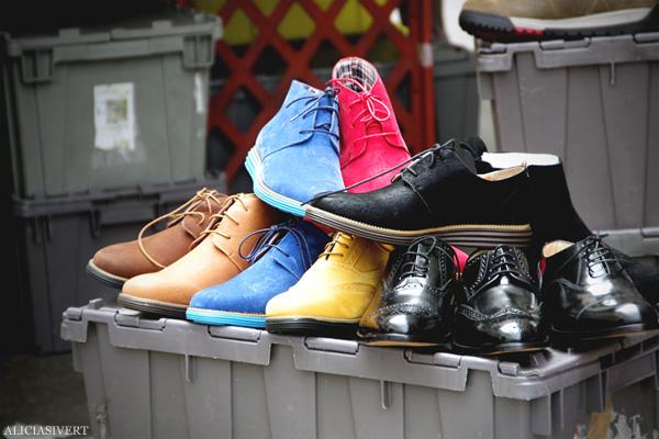 aliciasivert, alicia sivertsson, london med grabbarna, england, farringdon, market, shoes, skor, marknad