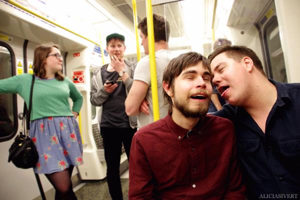 aliciasivert, alicia sivertsson, london med grabbarna, england, london underground, tunnelbana, tube