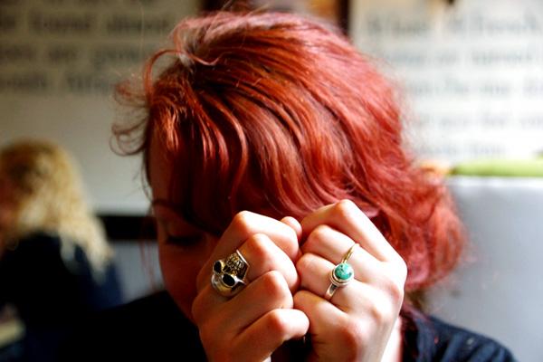 aliciasivert, alicia sivertsson, london med grabbarna, england, skull ring, dödskallering, rings, ringar