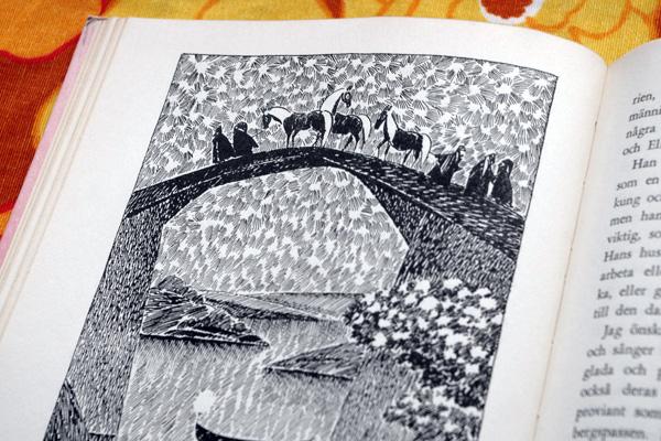 aliciasivert, alicia sivert, alicia sivertsson, tove jansson, jrr, j r r tolkien, hobbit, hob, bilbo, illustrationer, illustration, mumin, mumintrollet, moomin, prylfyndarfärdigheten, loppis, second hand, begagnat, fynd, 1962, 62, rabén & sjögren