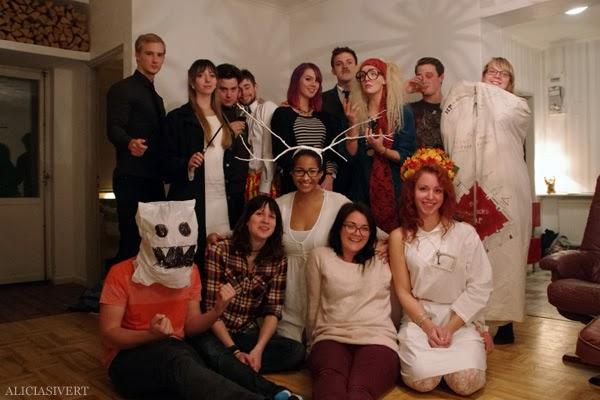 aliciasivert, alicia sivertsson, harry potter halloween party, fest, costume, maskerad, utklädd, utklädnad, hogwarts