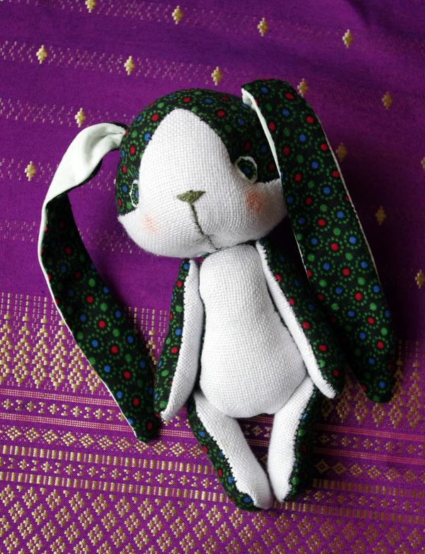 micesplice creations, handmade, doll, bunny, rabbit, handgjord docka, kanin, handarbete, hantverk, handicraft, craft