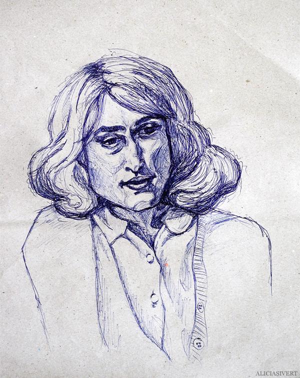 aliciasivert, alicia sivert, alicia sivertsson, keira knightley, portrait, porträtt, teckna, rita, sketch, drawing, draw