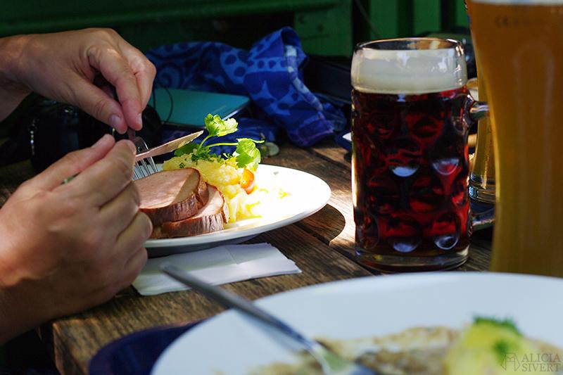resa till tyskland semester bilsemester münchen munchen biergarten weihenstephaner
