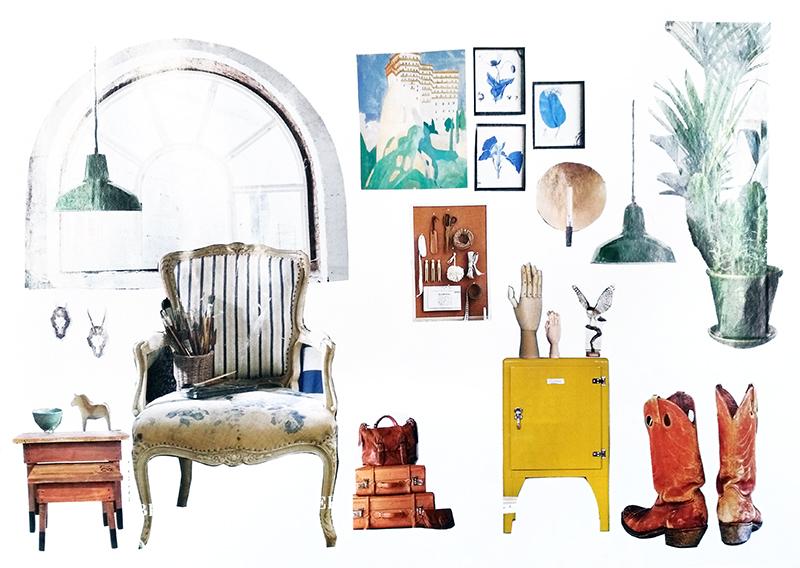 aliciasivert alicia sivert alicia sivertsson collage kollage inredning interiour interior möbler hem