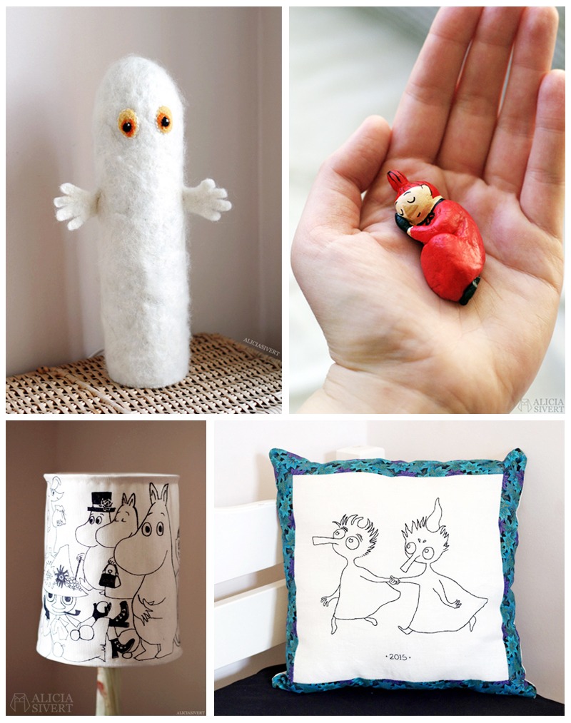 aliciasivert alicia sivert sivertsson mumin mumintrollen mumintrollet mumindalen tove jansson fan art hattifnatt lilla my lampa tofslan och vifslan tova tovad ull broderi lufttorkande lera miniatyr muminlampa hattifnattlampa belysning hantverk handgjort handgjord diy do it yourself gör det själv skapande Monthly Makers inspiration november 2017 tema böcker blogg utmaning bloggutmaning kreativitet skapa skapande kreativ bok konst hantverk do it yourself diy