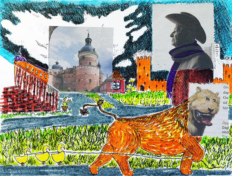 aliciasivert alicia sivert sivertsson skapa skapande kreativitet hantverk handgjort skapa med barn bild och form illustration teckning rita collage kollage