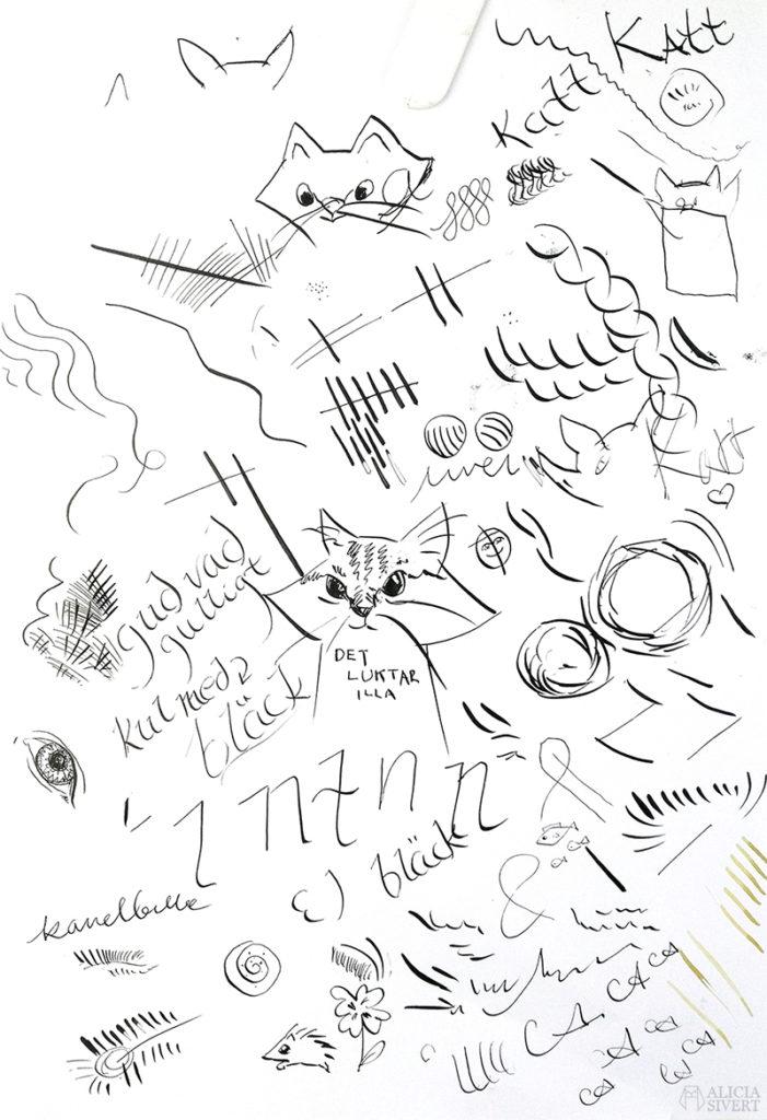 Teckningsutmaningen i juni, Alicia Sivertsson. aliciasivert teckning teckningar teckna rita skiss skissa skapa skapande utmaning kreativitet skaparutmaning bloggutmaning månadsutmaning kreativ stålpenna tusch bläck kladdpapper test teckningstekniker teknik tekniker