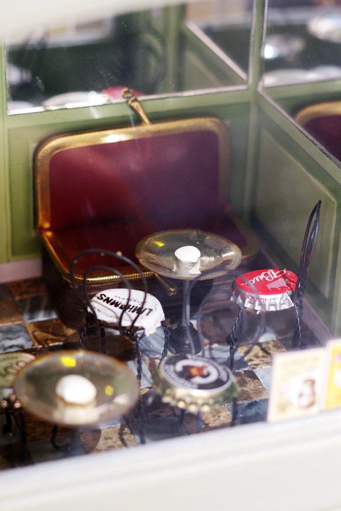 street art miniatyr miniature gatukonst möss muscafé muskonditori kondis värmdö besök besökstips gustavsberg