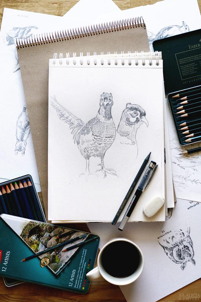 Teckningsutmaningen i juni, foto av Alicia Sivertsson. aliciasivert teckning teckningar teckna rita skapa skapande utmaning kreativitet skaparutmaning bloggutmaning månadsutmaning kreativ penna pennor blyertspennor blyertspenna krita bläckpenna tuschpenna bläck tusch öva övning träna träning gemenskap skapa tillsammans