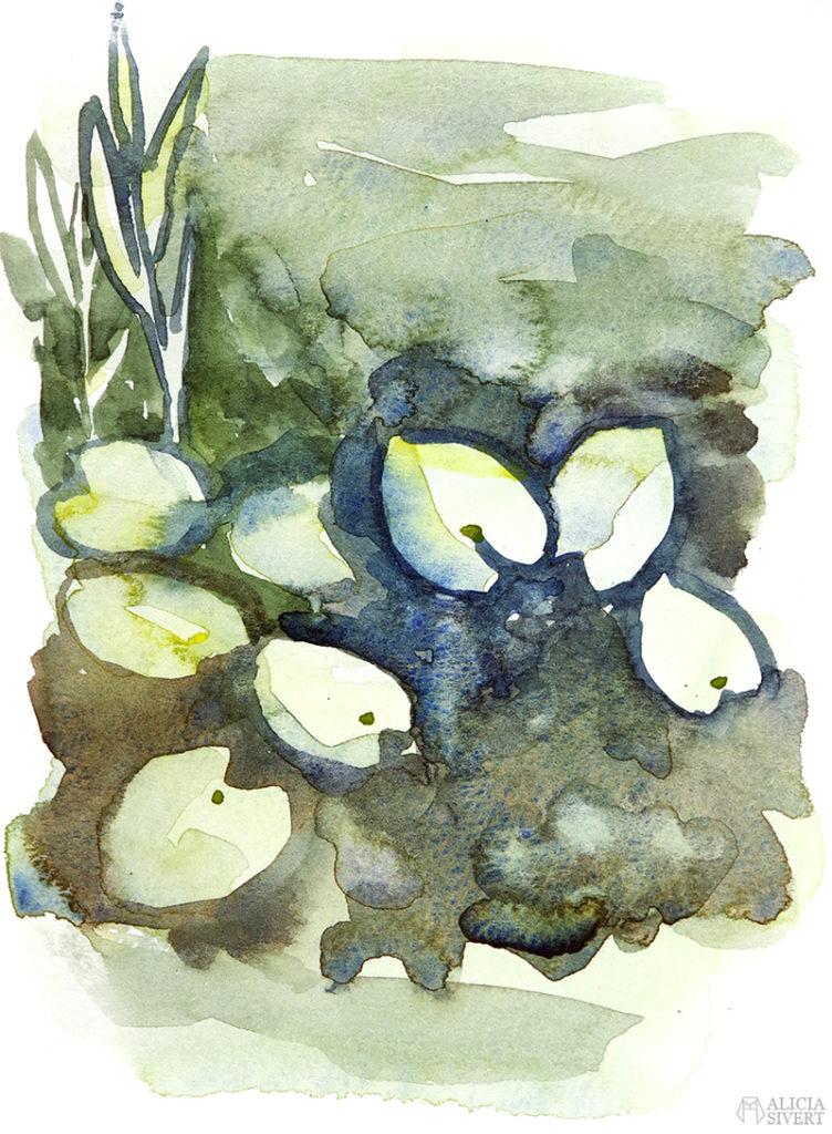 aliciasivert.se aliciasivert alicia sivert alicia sivertsson utflykt utflyktsmål måla teckna teckning måleri målning friluftsmåleri utomhus i park parken akvarell aquarelle watercolor watercolour vattenfärg konst målningar akvarellmålning utomhusakvarell måla akvarell utomhus eskilstuna näckrosor näckros näckrosblad