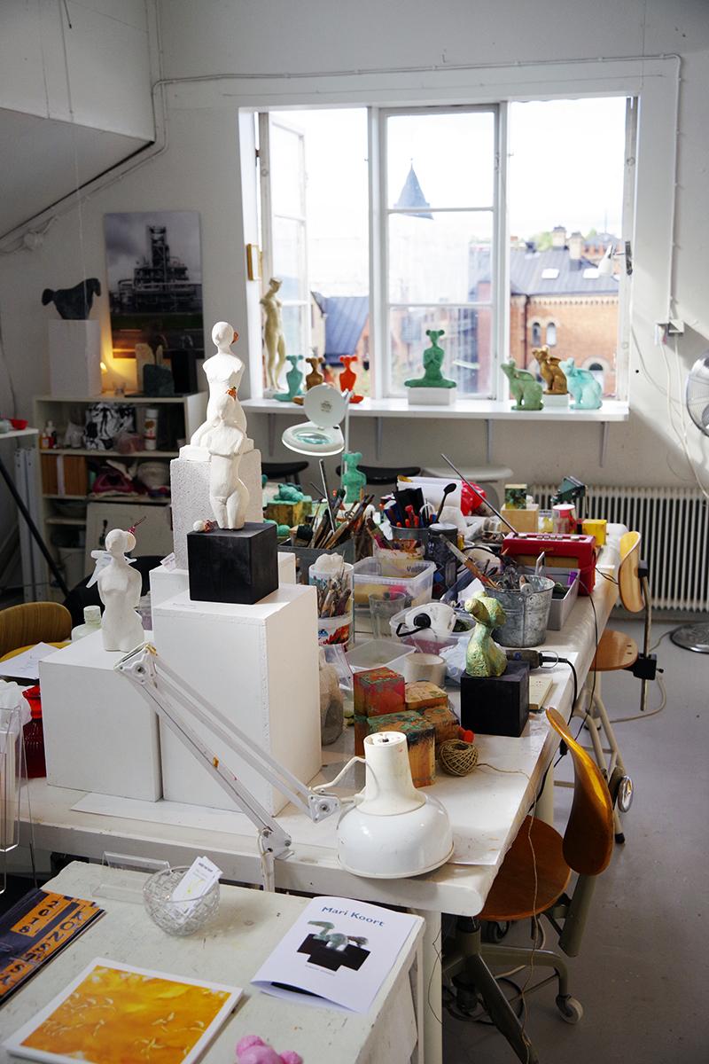 Porslinets Dag och öppna ateljéer i G-studion, Gustavsberg, 2018 - aliciasivert.se. Konst värmdö konstnär konstnärer öppet hus ateljé hantverk hantverkare