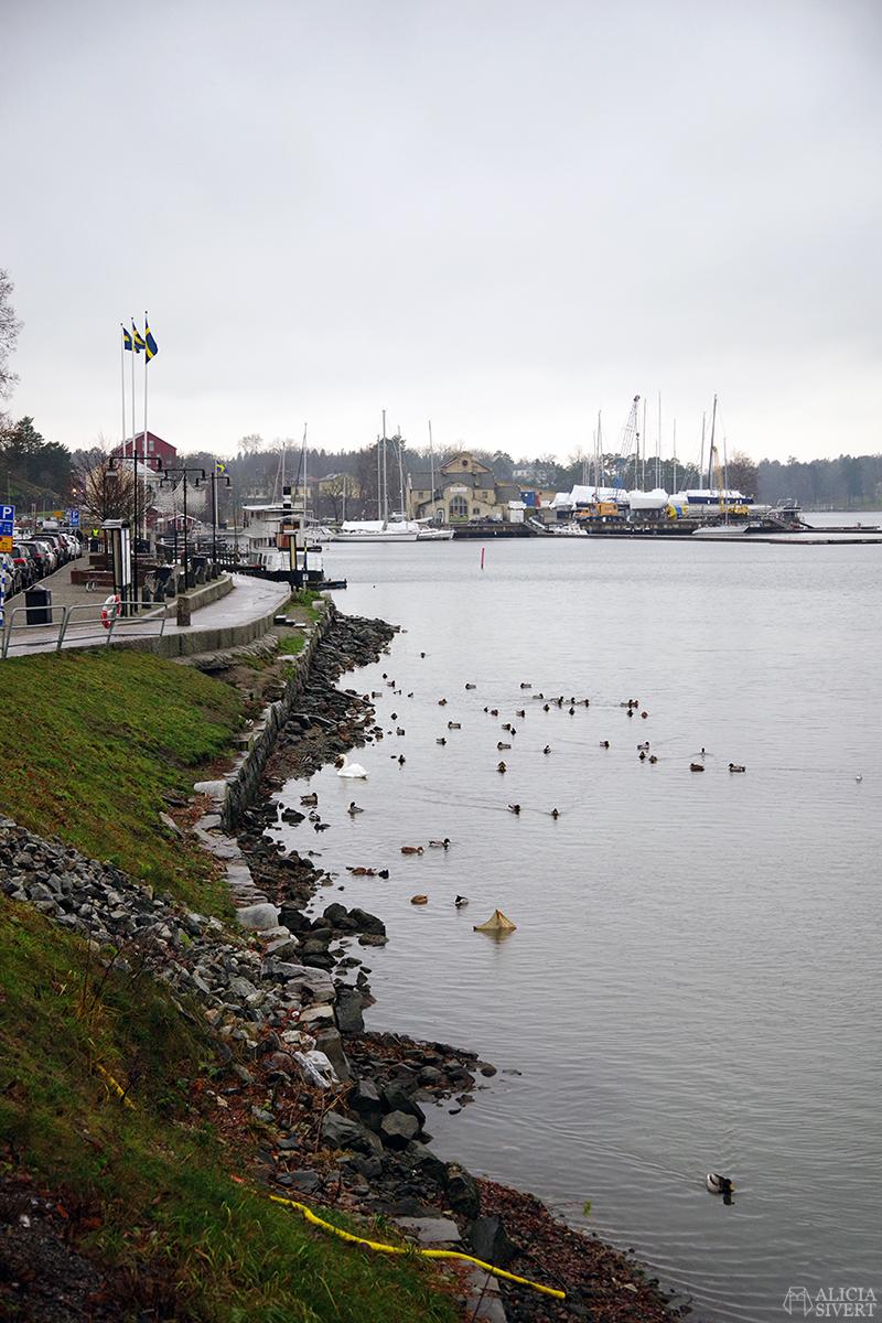 Gustavsbergs hamn. Första advent i Gustavsberg. Foto av Alicia Sivertsson - aliciasivert.se