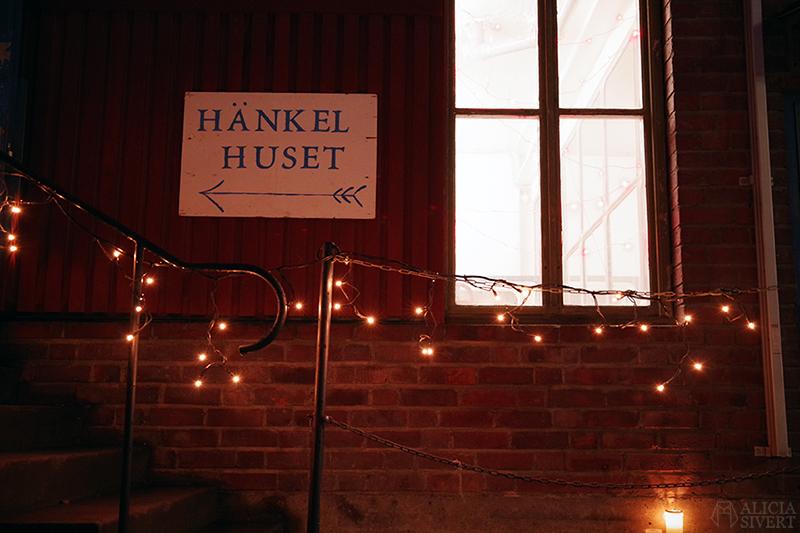 Hänkelhuset. Öppna Ateljéer i G-studion, gamla porslinsfabriken. Första advent i Gustavsberg. Foto av Alicia Sivertsson - aliciasivert.se