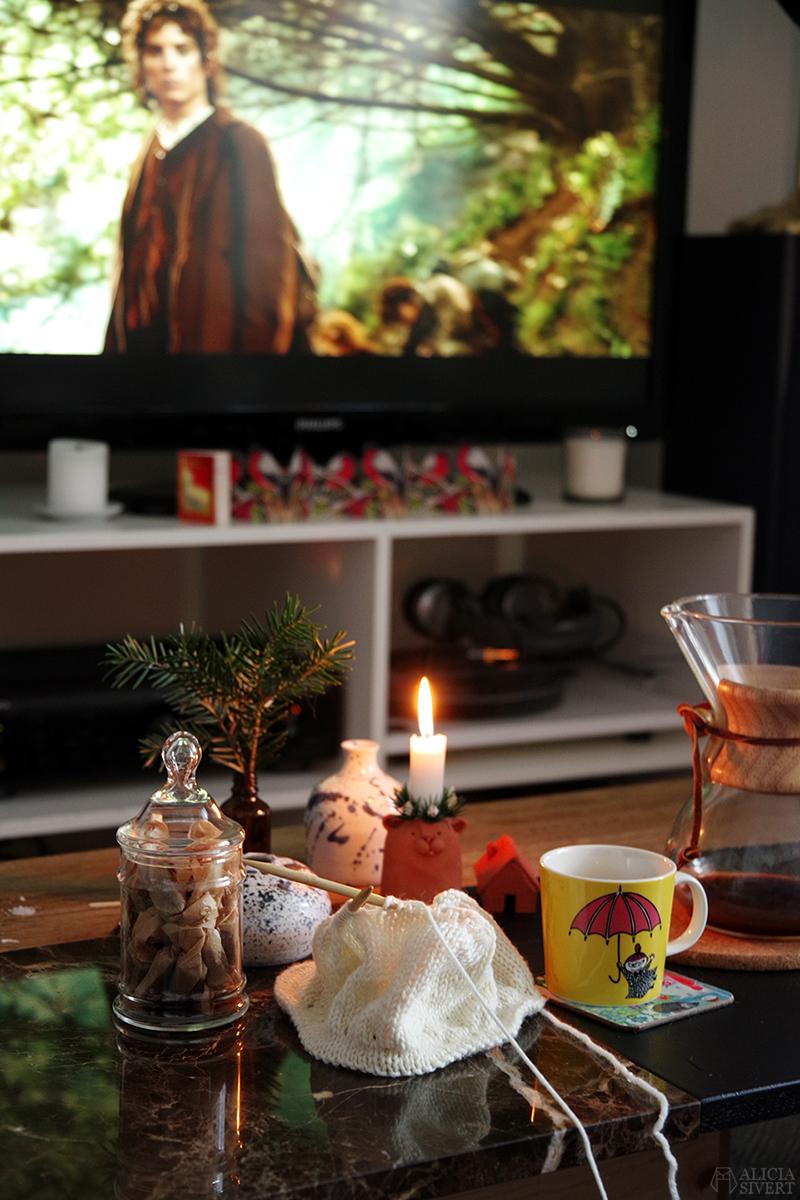 Försenade julkort December jul sagan om ringen mellandagarna mellandagar
