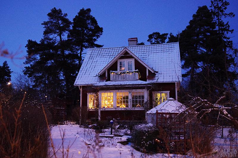 Försenade julkort december jul törnrosdalen