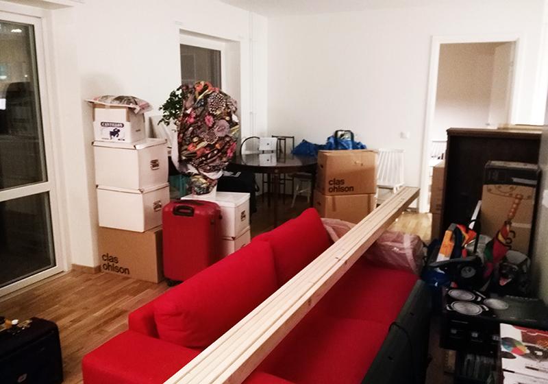 januari förra året efter flytt flytta