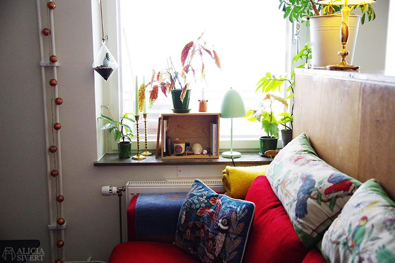 Rensa ut hemma - soffhörn. Foto av Alicia Sivertsson - www.aliciasivert.se