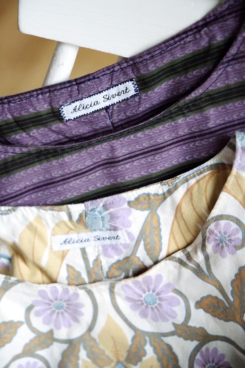 KonMari kläder: efter rensning - www.aliciasivert.se // rensa ut hemma organisera laga kläder före efter inspiration marie kondo konmari-metoden metod metoden