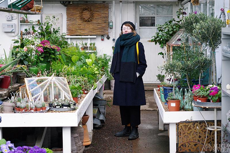 Hille i Rosendals Trädgård, foto av Alicia Sivertsson - www.aliciasivert.se / Mars förra året