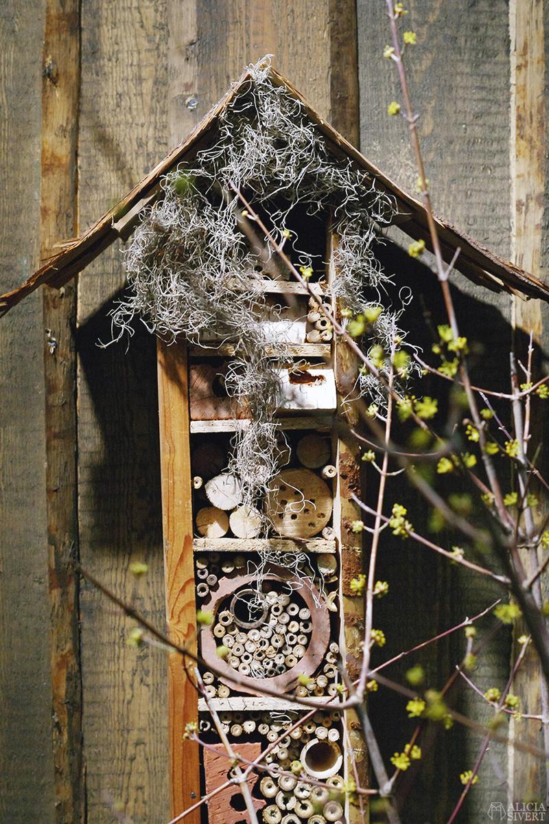 Nordiska Trädgårdar 2018 Trädgårdsmässan Stockholm Älvsjö insektsholk insektshotell