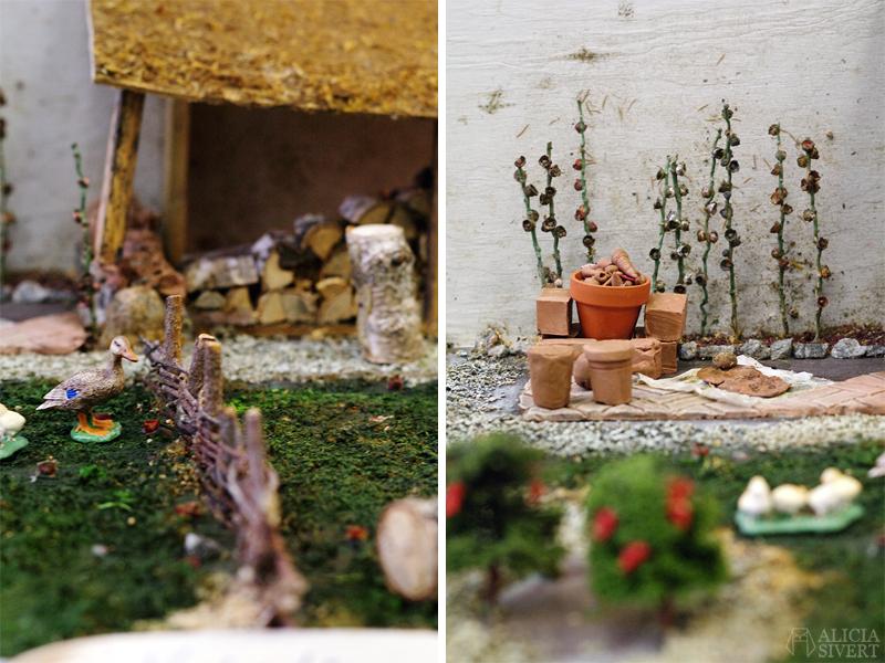 Nordiska Trädgårdar 2018 Trädgårdsmässan Stockholm Älvsjö miniatyr miniatyrer miniatyrhus