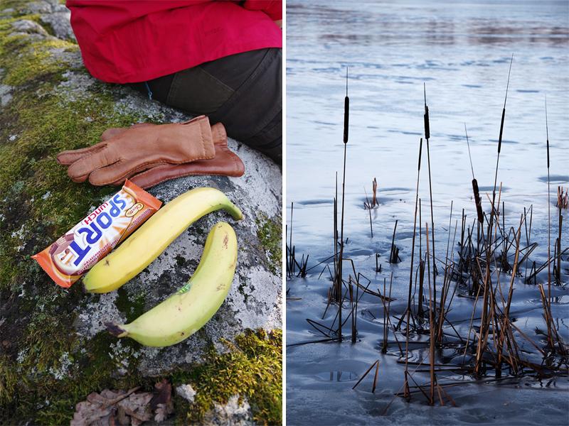 Ösbyrundan, Gustavsberg - www.aliciasivert.se // vårvinter promenad vandring runt Ösby träsk matsäck