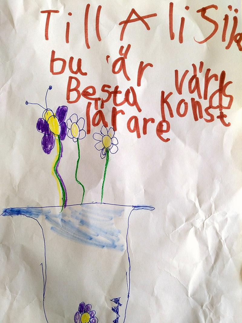 Kärleksbrev från bildelev - www.aliciasivert.se