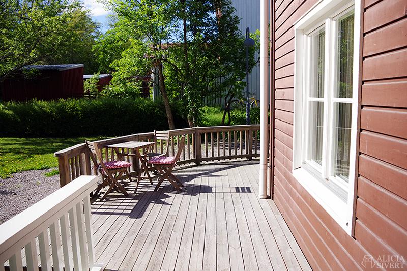 Nya lägenheten - www.aliciasivert.se // altan