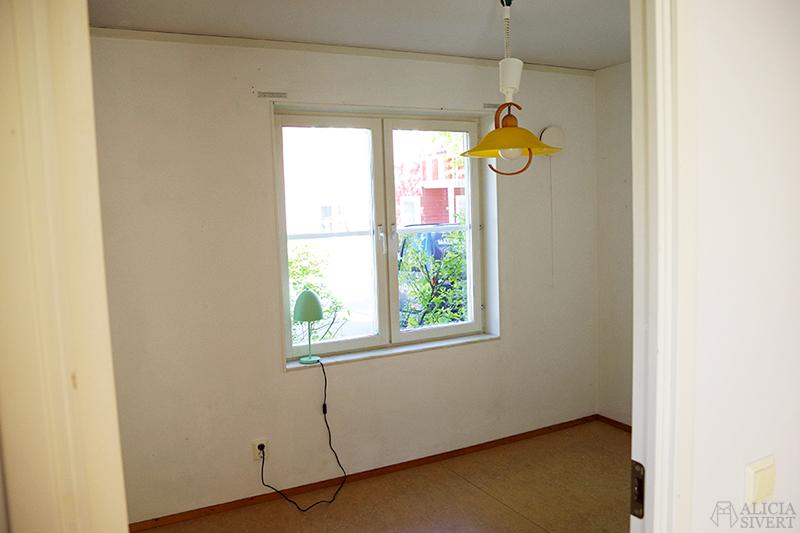 Nya lägenheten - www.aliciasivert.se // arbetsrummet