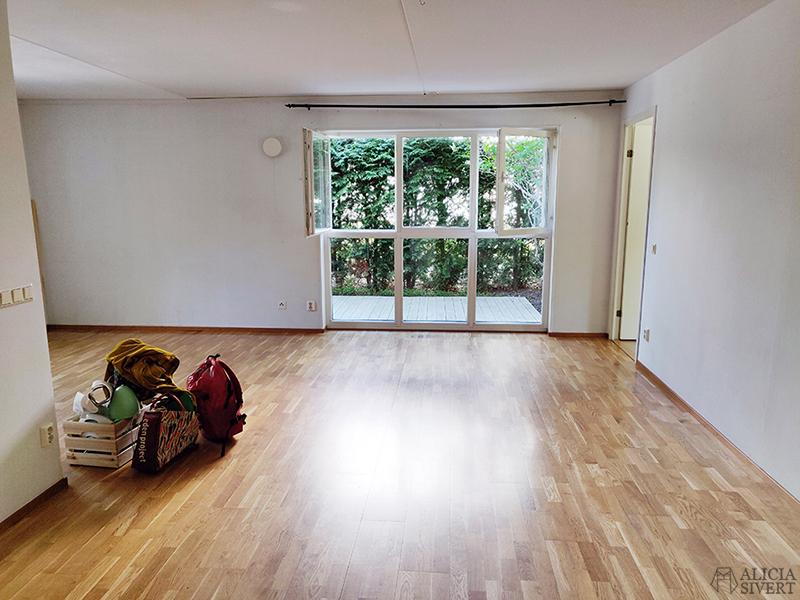 Nya lägenheten - www.aliciasivert.se // stort fönster