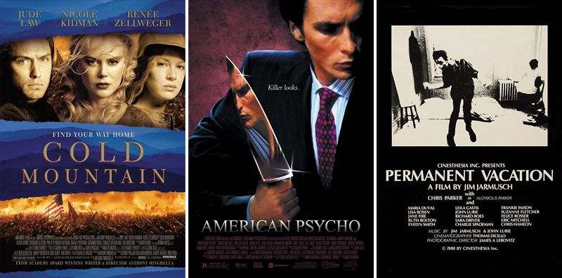 En film i veckan #1-26 - www.aliciasivert.se // Cold Mountain American Psycho Permanent Vacation