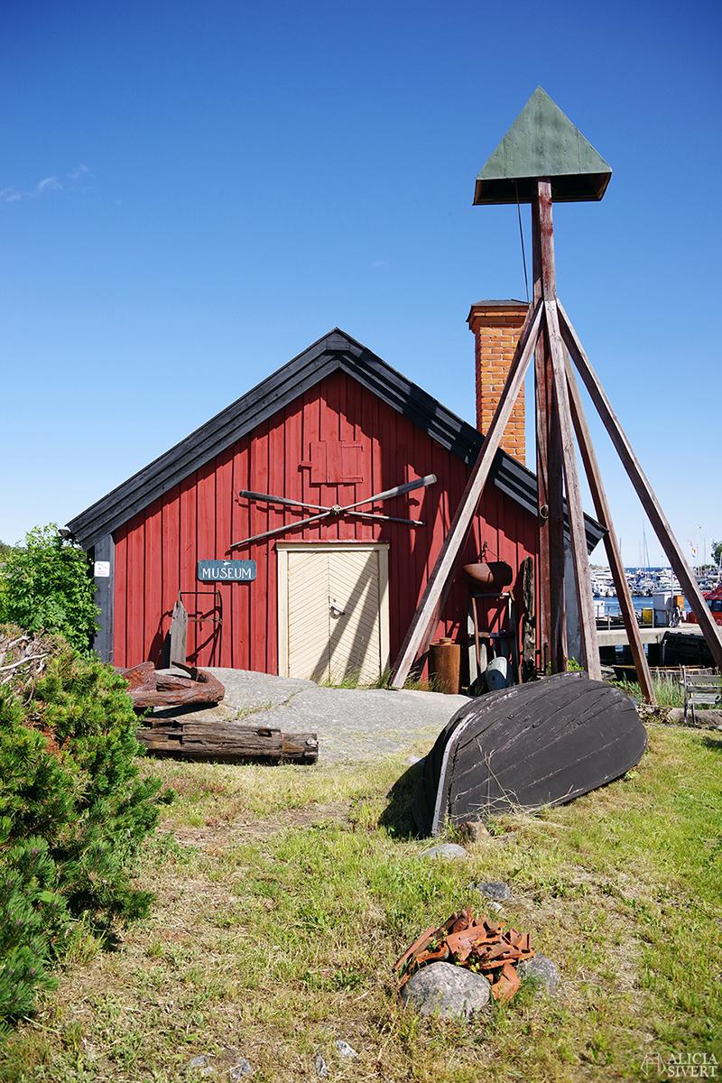 Sandhamns museum, en sommardag på Sandön - www.aliciasivert.se