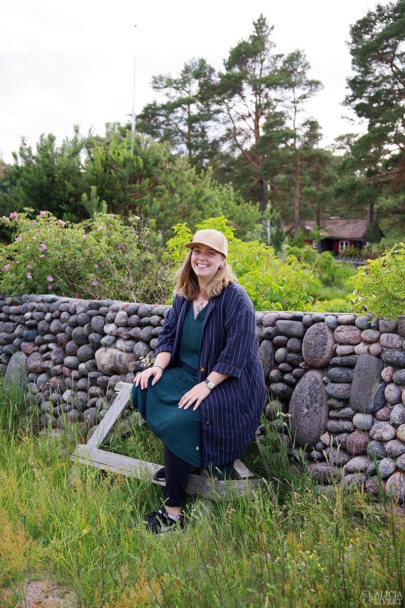 Cecilia Rang, en sommardag på Sandön - www.aliciasivert.se