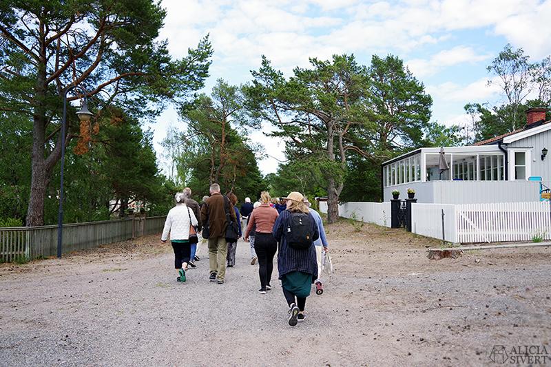 Guidad tur med Värmdö kommun, en sommardag på Sandön - www.aliciasivert.se