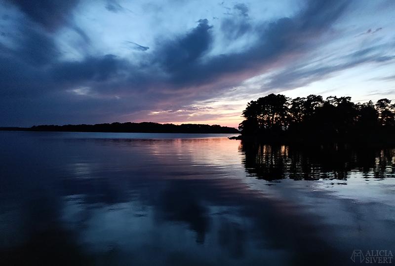 Sommarnatt i skärgården - www.aliciasivert.se