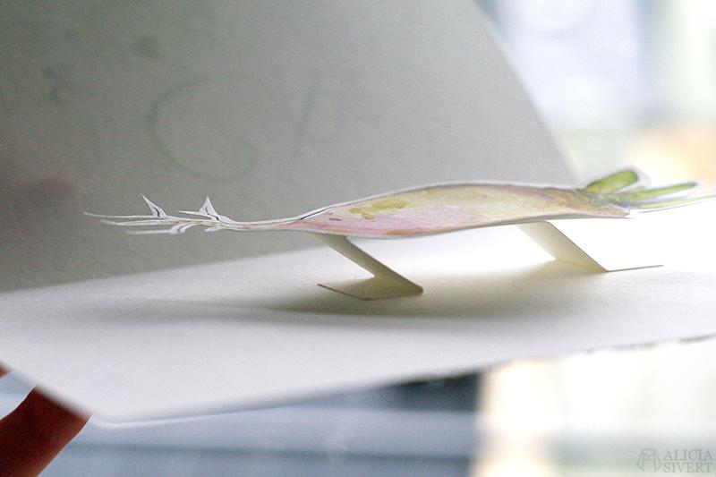 Inspiration till presentkort: ge bort en upplevelse i jul! DIY kort grattiskort presentkort present upplevelse upplevelser av Alicia Sivertsson - www.aliciasivert.se Rutabaga restaurang kålrot pop up-kort pop upp