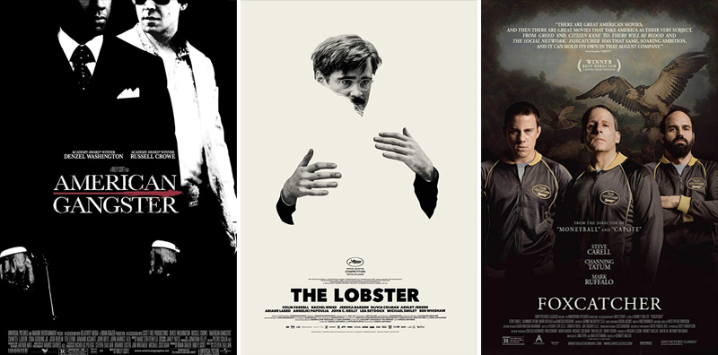 En film i veckan #27-52 - www.aliciasivert.se / American Gangster, The Lobster, Foxcatcher