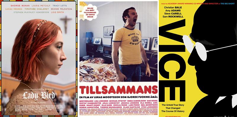 En film i veckan #27-52 - www.aliciasivert.se / Lady Bird, Tillsammans, Vice