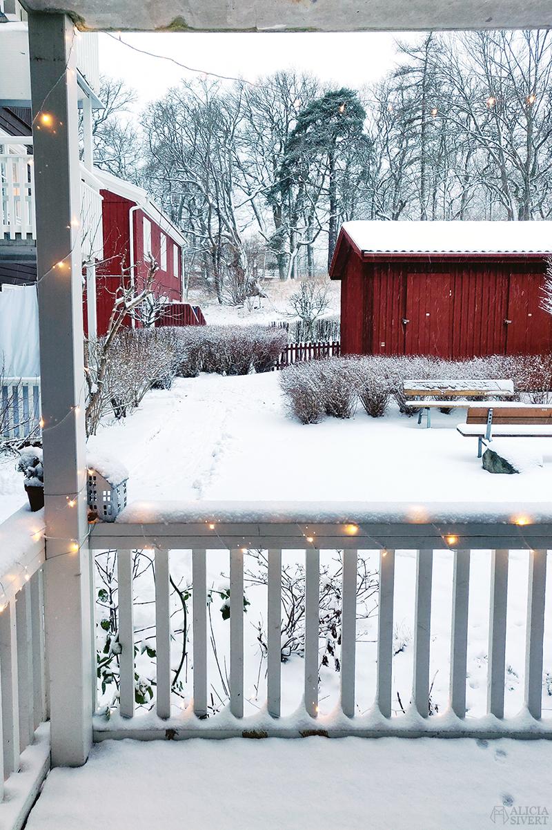Snö, februari - www.aliciasivert.se