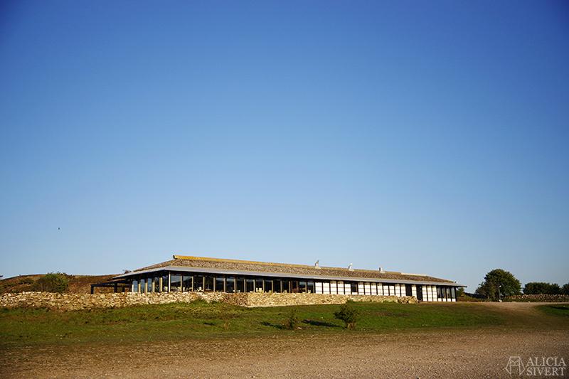 Majstregården, ritad av arkitekt Nils Carlson. Gotland i juni - www.aliciasivert.se
